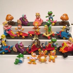 Vintage McDonalds Happy Meal Collections 1989-90
